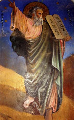 Пророк Божий Моисей