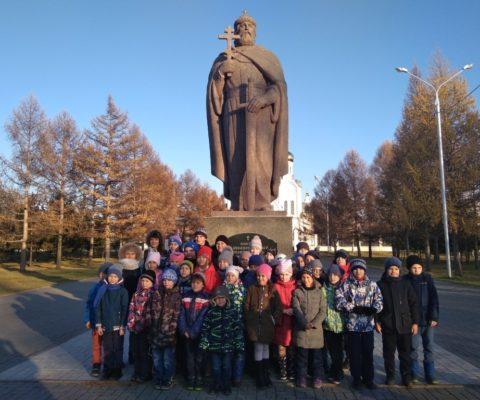 В соборе побывали на экскурсии воспитанники СК «Заря»