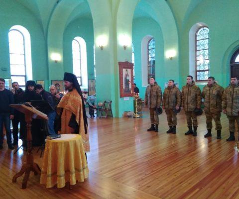 В соборе прошел молебен по случаю Дня Героев Отечества